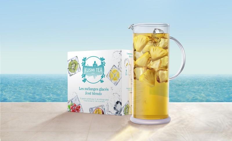 Osvěžující ledové čaje v limitované edici Kusmi Tea