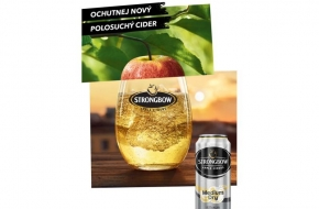 Novinka Strongbow Medium Dry