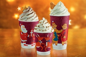 V Costa Coffee se t�� na V�noce