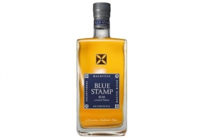 Rum Blue Stamp z Mauricia