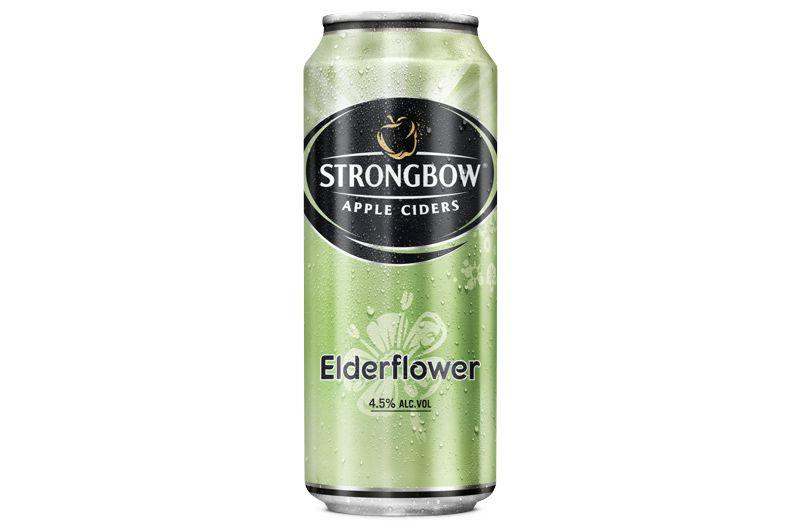 Strongbow Elderflower, novб pшнchuќ cideru