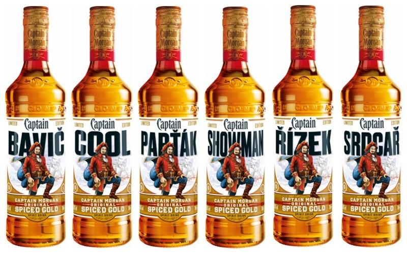 Limitovan� edice Captain Morgan Spiced Gold