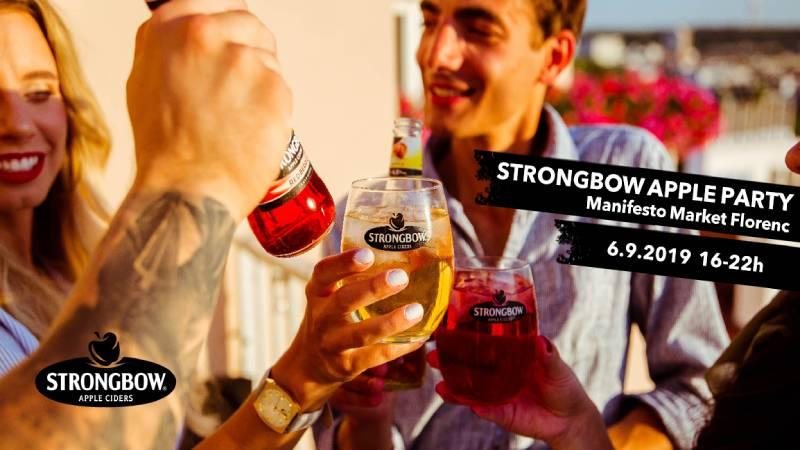 Strongbow zve na apple party na Florenc