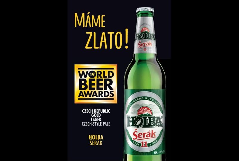 Prvn� na World Beer Awards: Holba �er�k
