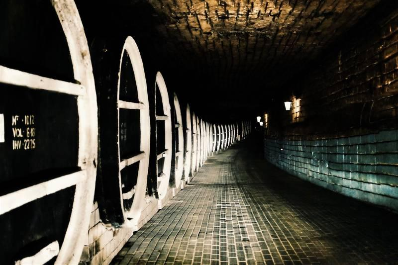 The cellars at Mileºtii Mici winery are 200km-long © Mark Baker / Lonely Planet
