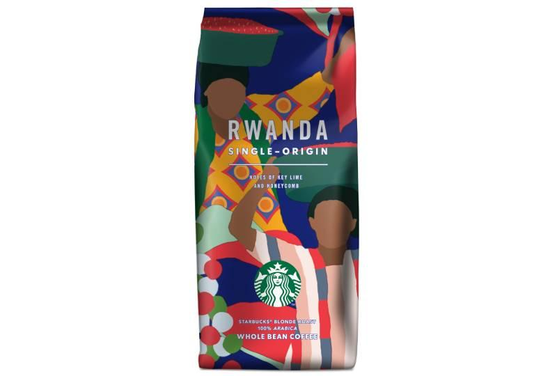 V létì zkuste Starbucks Rwanda Single Origin