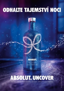 Limitovaná edice Absolut vodky Absolut Uncover